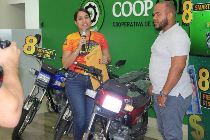 ENTREGA DE PREMIOS GANAO Y MONTAO CON COOPADEPE